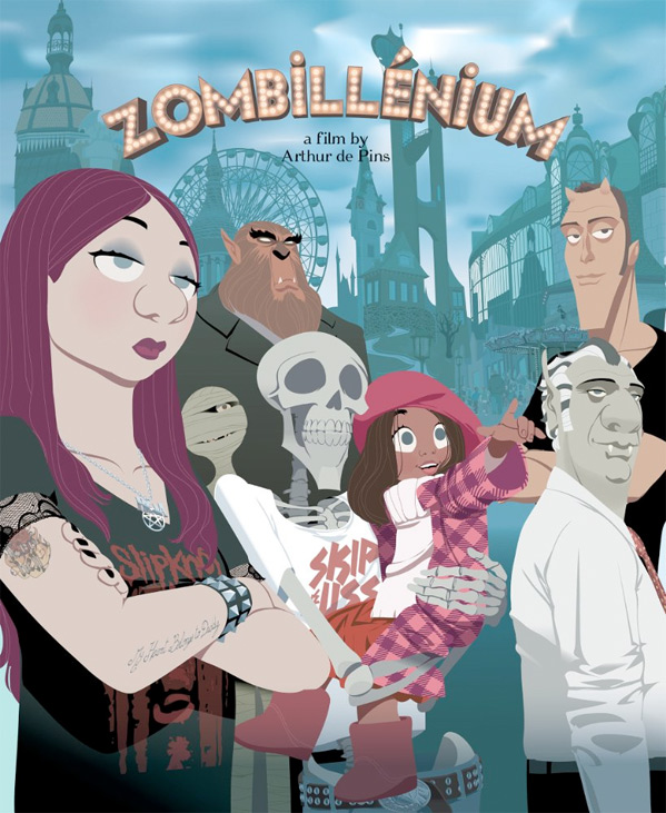 Zombillenium Poster