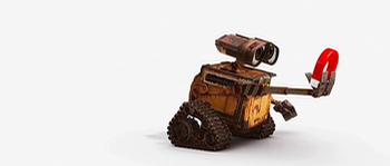 Wall-E Meets a Magnet