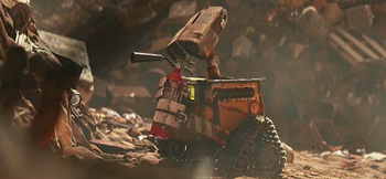 Pixar's Wall-E Trailer