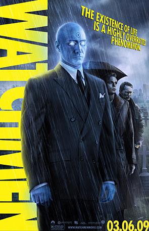 Watchmen - Dr. Manhattan Poster
