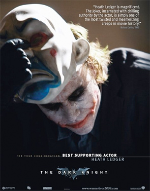 The Dark Knight - For Your Consideration Ad