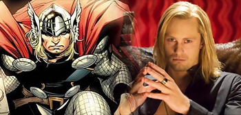 Alexander Skarsgard as Thor