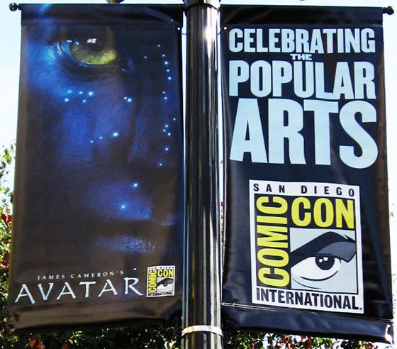 Avatar Comic-Con Banner