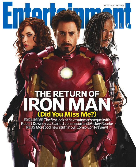 Entertainment Weekly - Iron Man 2
