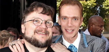 Guillermo del Toro and Doug Jones