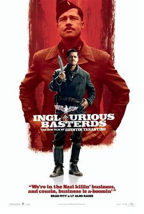 Inglourious Basterds Poster - Brad Pitt