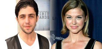 Josh Peck and Adrianne Palicki