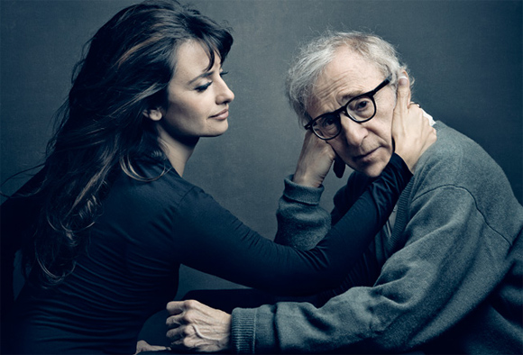 Penélope Cruz and Woody Allen
