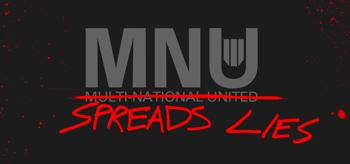 MNU Sreads Lies