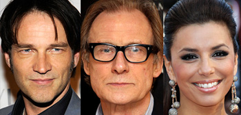 Stephen Moyer, Bill Nighy, Eva Longoria