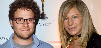 Seth Rogen and Barbra Streisand
