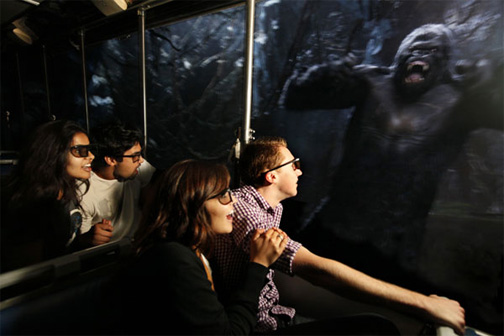 Universal Studios King Kong 360 3D