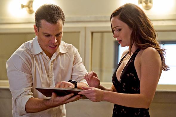 Matt Damon & Emily Blunt in The Adjustment Bureau