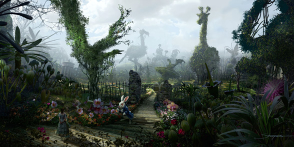 Alice in Wonderland Concept Art