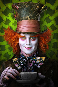 Johnny Depp - Alice in Wonderland