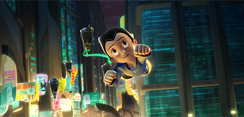 Two New Photos from Imagi's Astro Boy