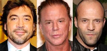 Javier Bardem, Mickey Rourke, Jason Statham