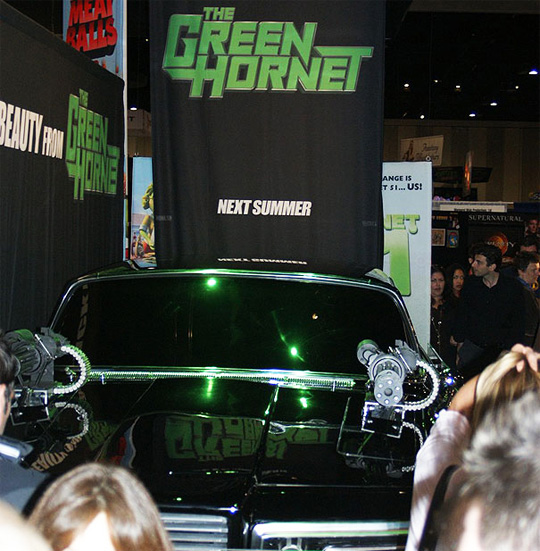 The Green Hornet's Black Beauty