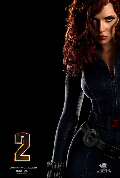 Iron Man 2 - Black Widow WonderCon Poster