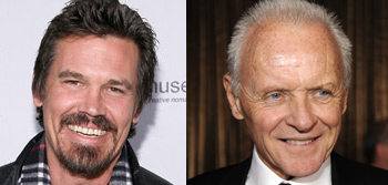 Josh Brolin and Anthony Hopkins