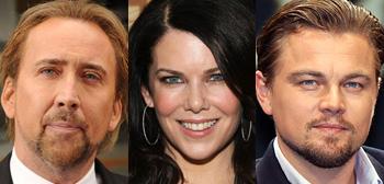 Nicolas Cage, Lauren Graham & Leonardo DiCaprio