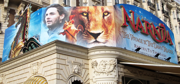 Cannes - The Chronicles of Narnia: The Voyage of the Dawn Treader