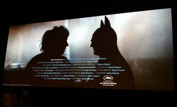 Cannes Film Festival - Batman