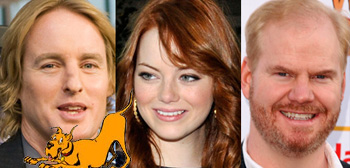Owen Wilson, Emma Stone, Jim Gaffigan