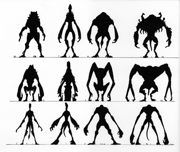 Neville Page's Cloverfield Monsters