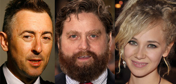 Alan Cumming, Zach Galifianakis, Juno Temple