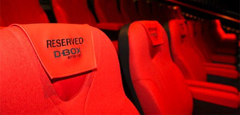 D-Box Motion Seats