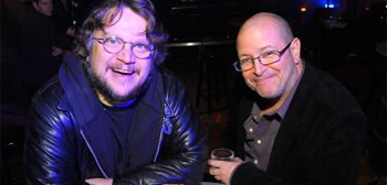 Guillermo del Toro and Mike Mignola
