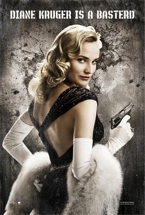 Diane Kruger is a Basterd Poster