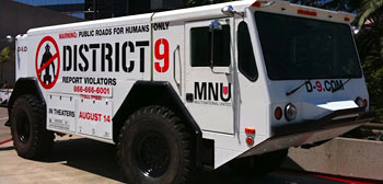 District 9's MNU Truck
