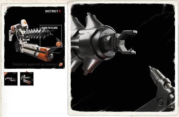 District 9 Weapon - Arc Generator