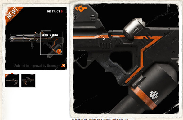 District 9 Weapon - Gas Projector