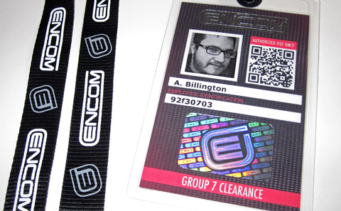 Encom Employee ID Badge