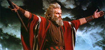 Moses in The Ten Commandments