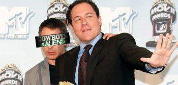 Robert Downey Jr. and Jon Favreau