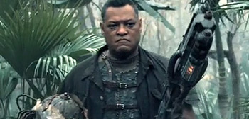 Laurence Fishburne in Predators
