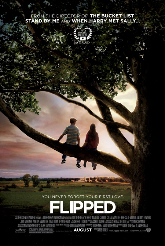 Rob Reiner's Flipped Poster