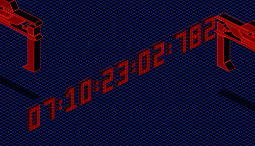 Space Paranoids Online Countdown