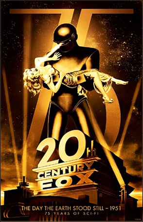20th Century Fox 75th Anniversary - The Day the Earth Stood Still