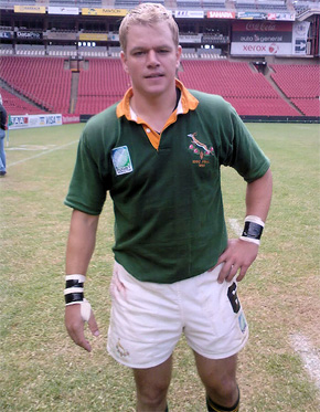 Matt Damon as Francois Pienaar