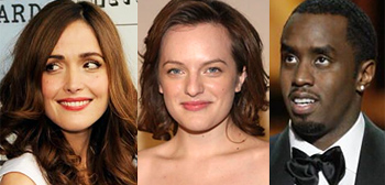 Rose Byrne, Elisabeth Moss, Sean Combs