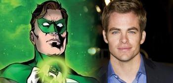 Star Trek's Chris Pine the Frontrunner to Play Hal Jordan?