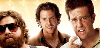 Three Character Banners for Todd Phillips' The Hangover