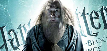 Six Fresh New Harry Potter 6 Character Posters - Dumbledore