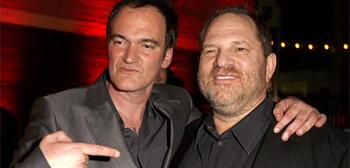 Quentin Tarantino & Harvey Weinstein