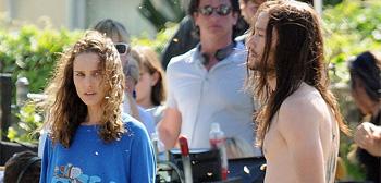 Natalie Portman and Joseph Gordon-Levitt in Hesher